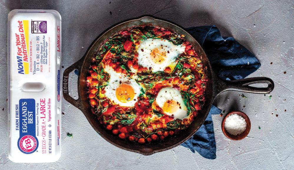 Harissa Baked Eggs