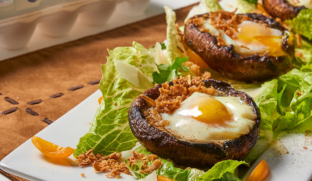 Egg Portobello Boats