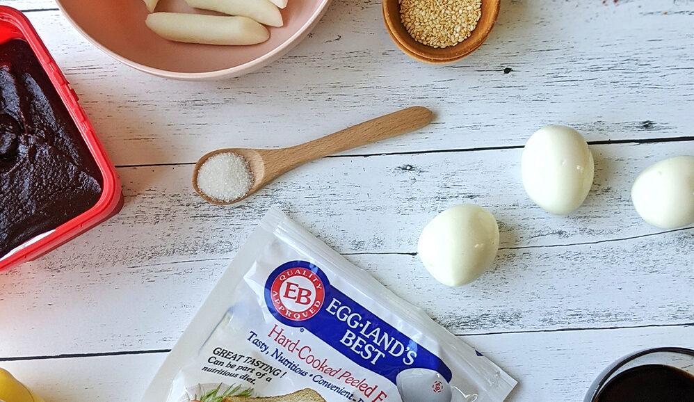 Photo of Air Fried Korean Rice Cake Skewers