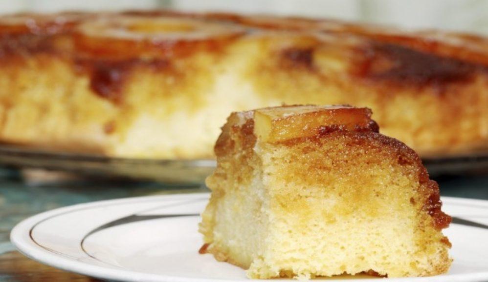Photo of Light Pineapple Upside-Down Cake