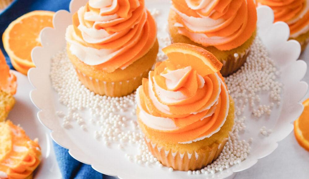 Photo of Orange Dream Cupcakes
