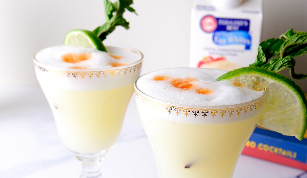 Photo of Ginger Mint Pisco Sour