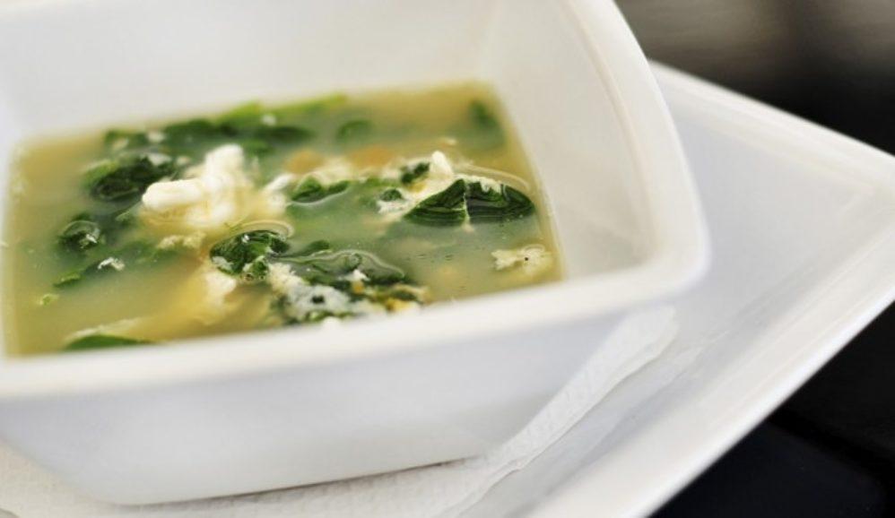 Stracciatella – Italian Egg Drop Soup