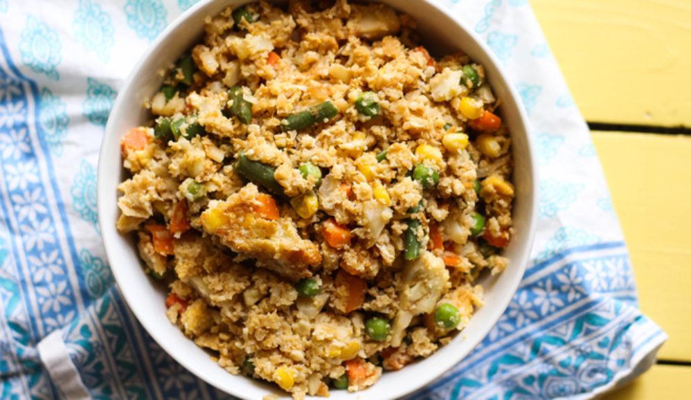 """5-Ingredient Cauliflower """"Fried Rice"""""""