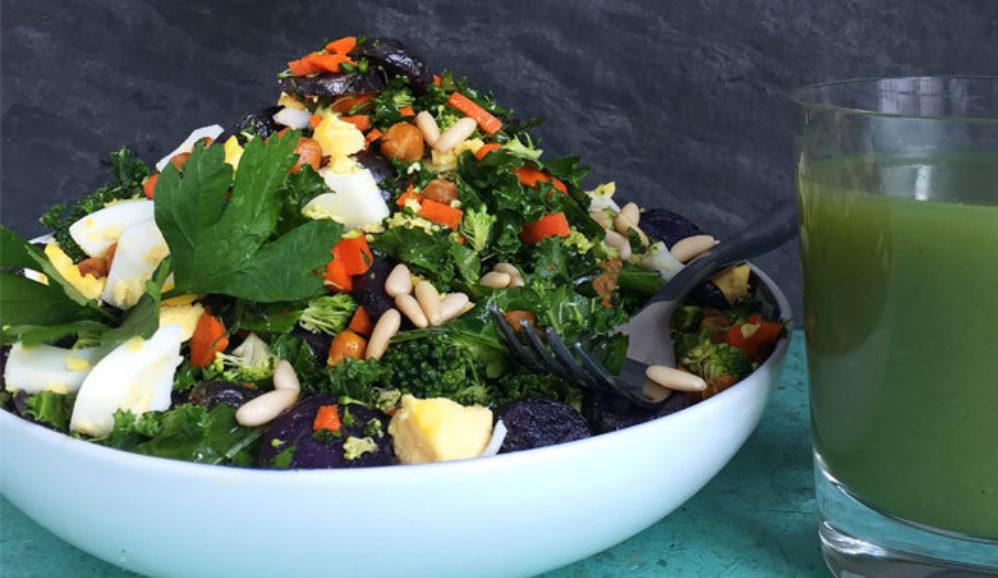 Chopped Detox Beauty Salad