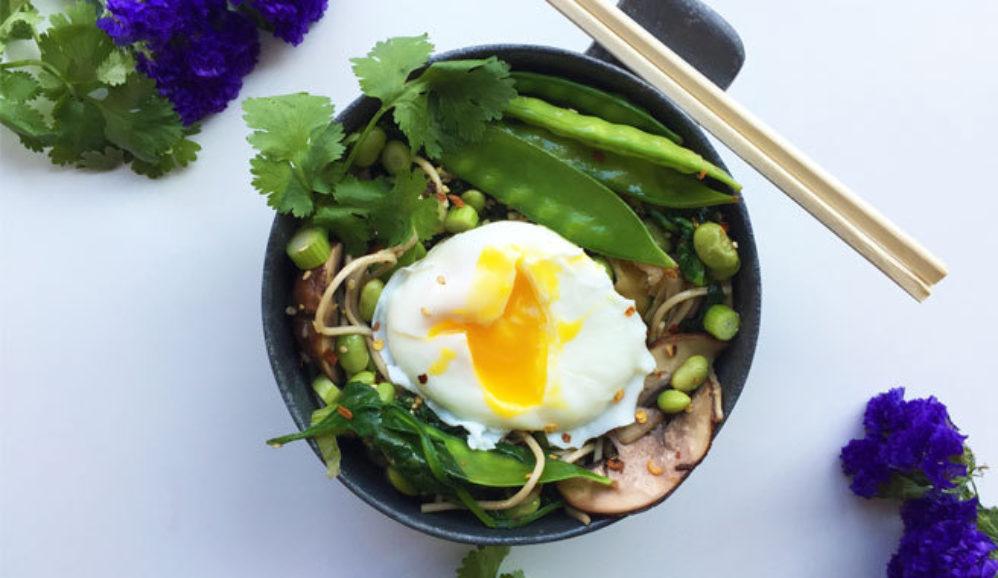 Super Green Soba Noodle Bowl
