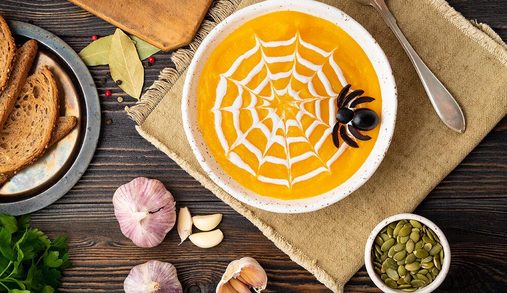 Photo of 'Cobweb' Pumpkin & Squash Soup
