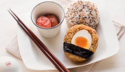 Japanese-Inspired Egg Rice Balls