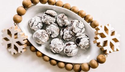 Paleo Crinkle Cookies
