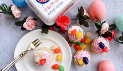 Nadia's Jelly Bean Cupcakes