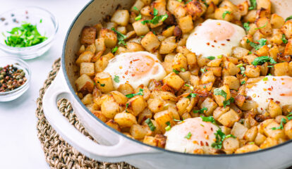 Baked Potatoes & EB Eggs