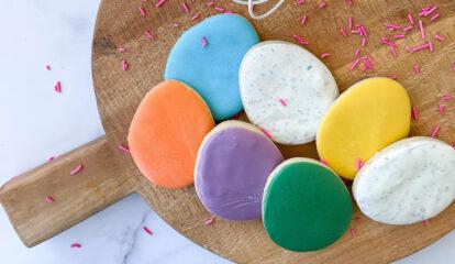 Scrumptious Easter Egg Cookies