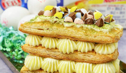 Chocolate Easter Eggs Mille-Feuille