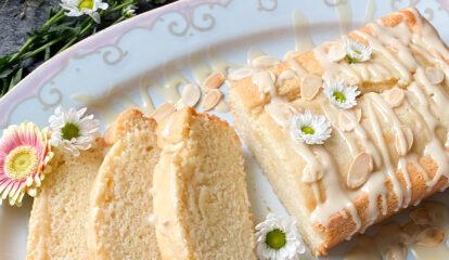 Almond-Tahini Cake
