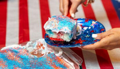 Patriotic Poke Cake