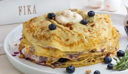 Swedish Pancake Stack Cake