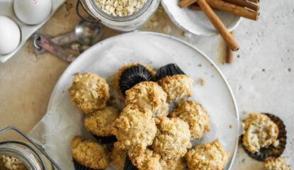 Oatmeal Mini Muffins