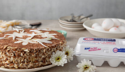 Summer Daisy Cake