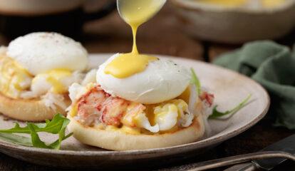 Maine Coast Lobster Eggs Benedict