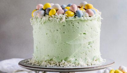 Almond Poppyseed Cake