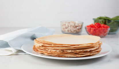 Egg White Crepes
