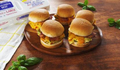 Bacon & Omelet Sliders