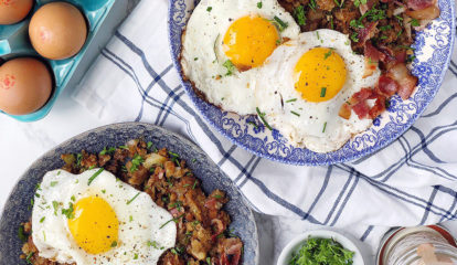 Holiday Leftover Breakfast Hash