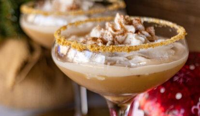 Bourbon Eggnog Cocktail