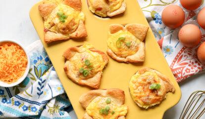Crescent Roll Egg Muffins