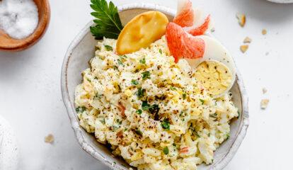Crab Egg Salad