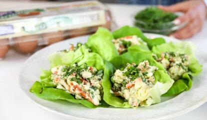Persian Egg Salad (Salad Olivieh)