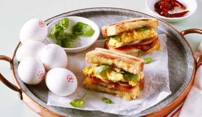 Spicy Egg & Cheese Toasties