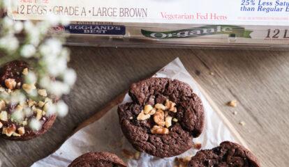 Homemade Brownie Muffins