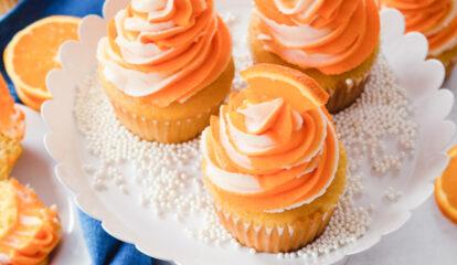 Orange Dream Cupcakes