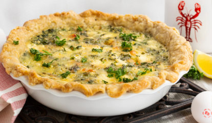 Wicked Killahh Lobstahh & Herbaceous Cheese Quiche