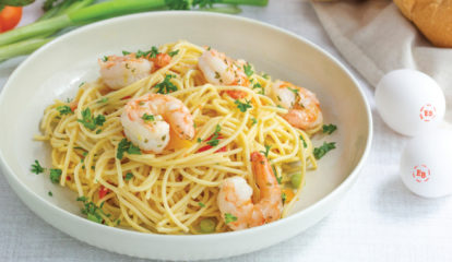 Gulf Coast Shrimp Pasta Pizzazz