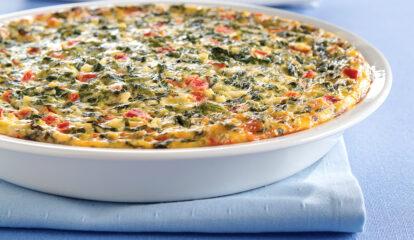 Quick Italian Spinach Pie