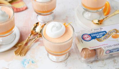Orange Cream 1-2-3 Dessert Cups