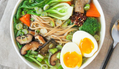 Ramen Bowl with Soft Boiled Eggs
