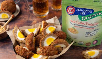 Scotch Egg Wedges