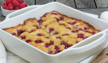 Wild Raspberry Kuchen