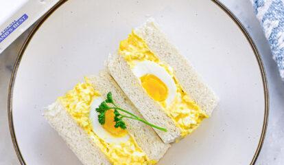 Japanese Egg Salad Sandwich