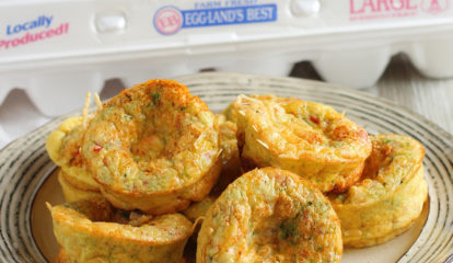 Easy Ham-and-Veggies Egg Muffin Cups