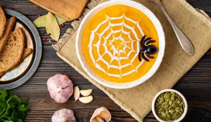 'Cobweb' Pumpkin & Squash Soup
