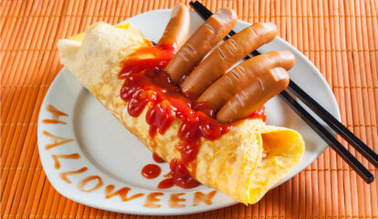 Witches' Fingers Omelet
