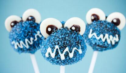 Monster Mash Cake Pops