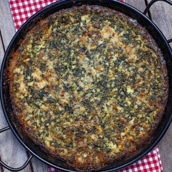 Photo of Spinach Gorgonzola Souffle