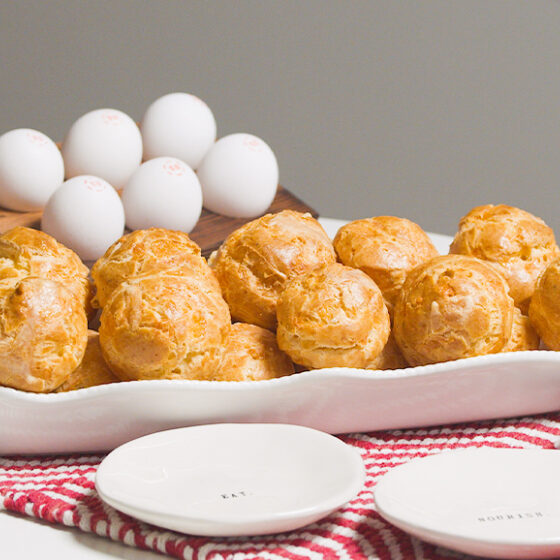 Photo of Gougeres