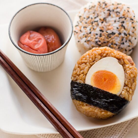 Photo of Japanese-Inspired Egg Rice Balls