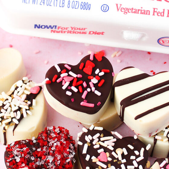 Photo of Mini Heart Cake Bites